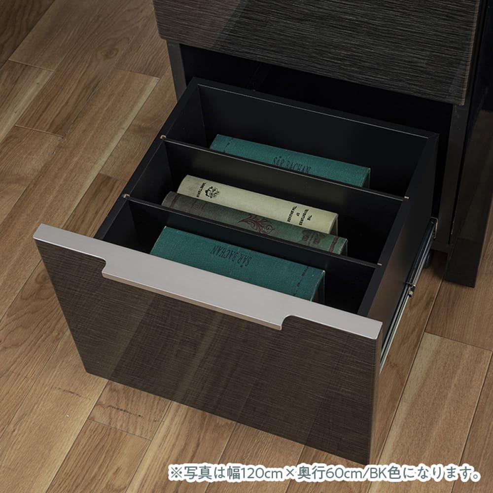デスク グレイン100×60(BK):ワゴンの仕様�B