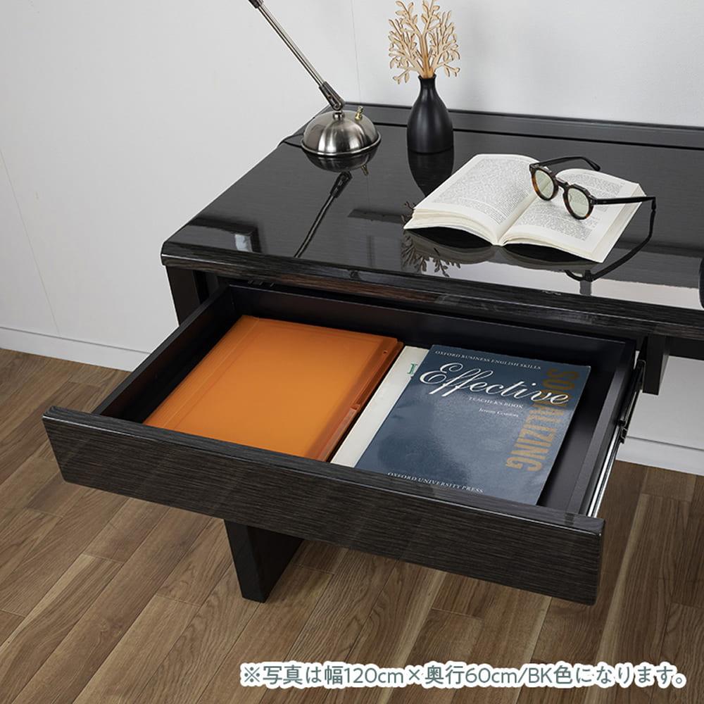 デスク グレイン120×60(WH):オプション引き出し