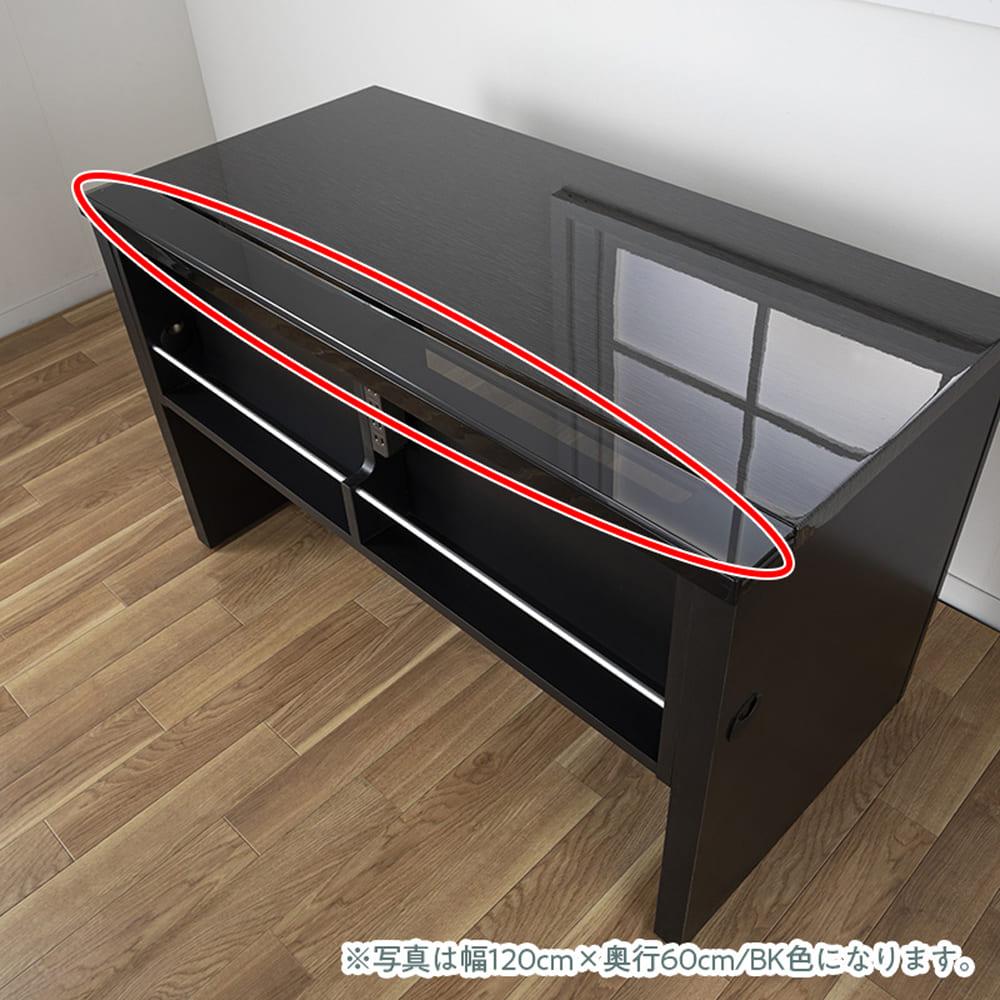 サイドチェスト グレイン43×45(WH):奥行で変わるでデザイン