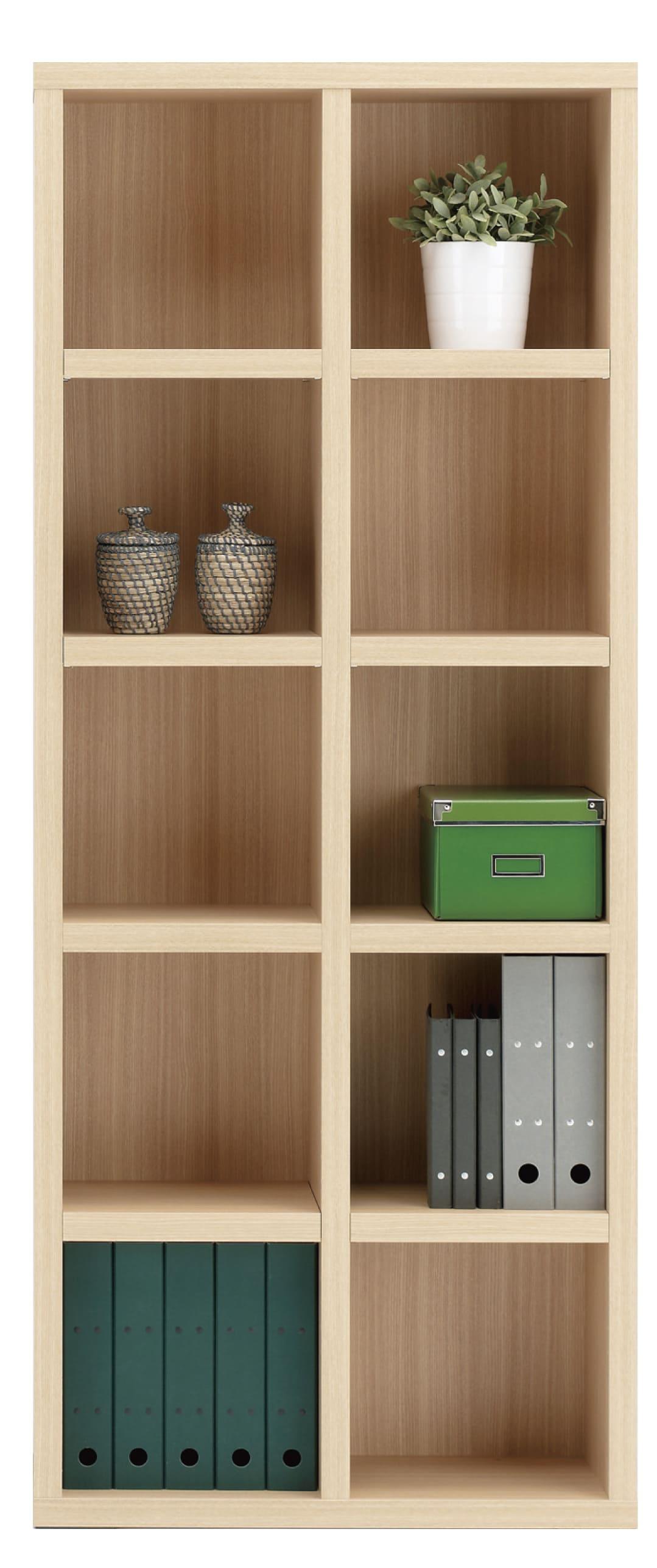 書棚 ニューラチスFBA−75T エリーゼアッシュ:書棚 ニューラチス ※小物類はイメージです。
