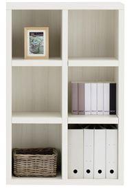 書棚 ニューラチスFHS−75L ホワイトウッド