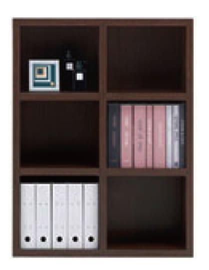 書棚 ニューラチスFHR−90L レベッカオーク:書棚 ニューラチス ※小物類はイメージです