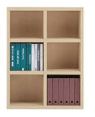 書棚 ニューラチスFHA−90L エリーゼアッシュ