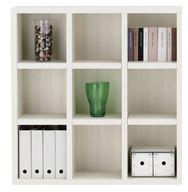 書棚 ニューラチスFHS−110L ホワイトウッド
