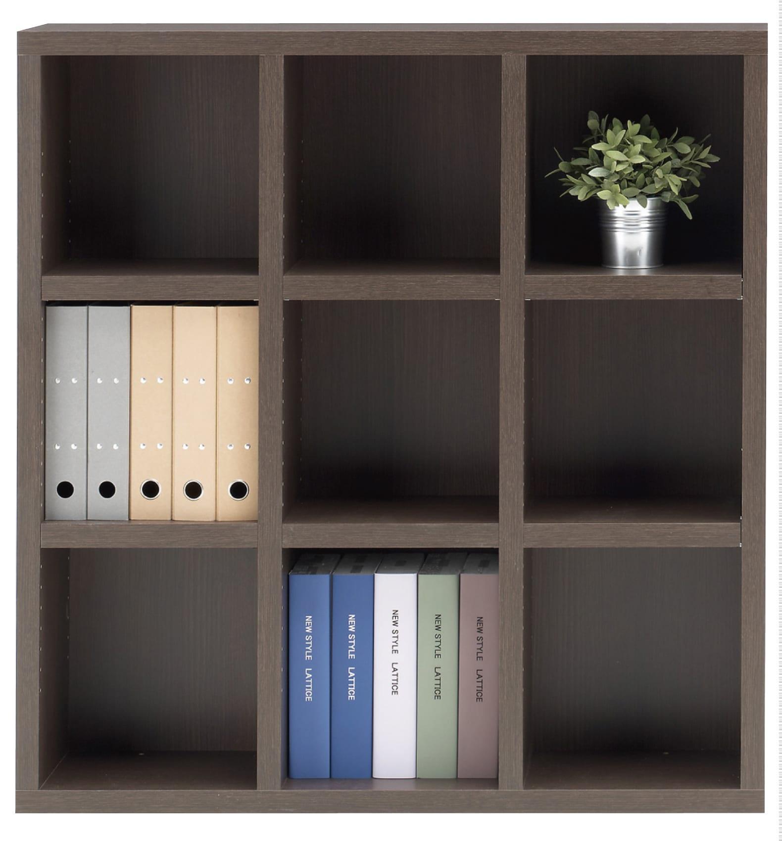 書棚 ニューラチスFHR−110L レベッカオーク:書棚 ニューラチス ※小物類はイメージです。