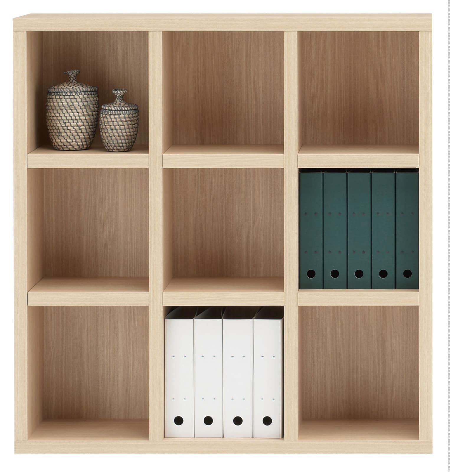 書棚 ニューラチスFHA−110L エリーゼアッシュ:書棚 ニューラチス ※小物類はイメージです。