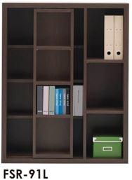 スライド書棚  ニューラチスFSR−91L レベッカオーク