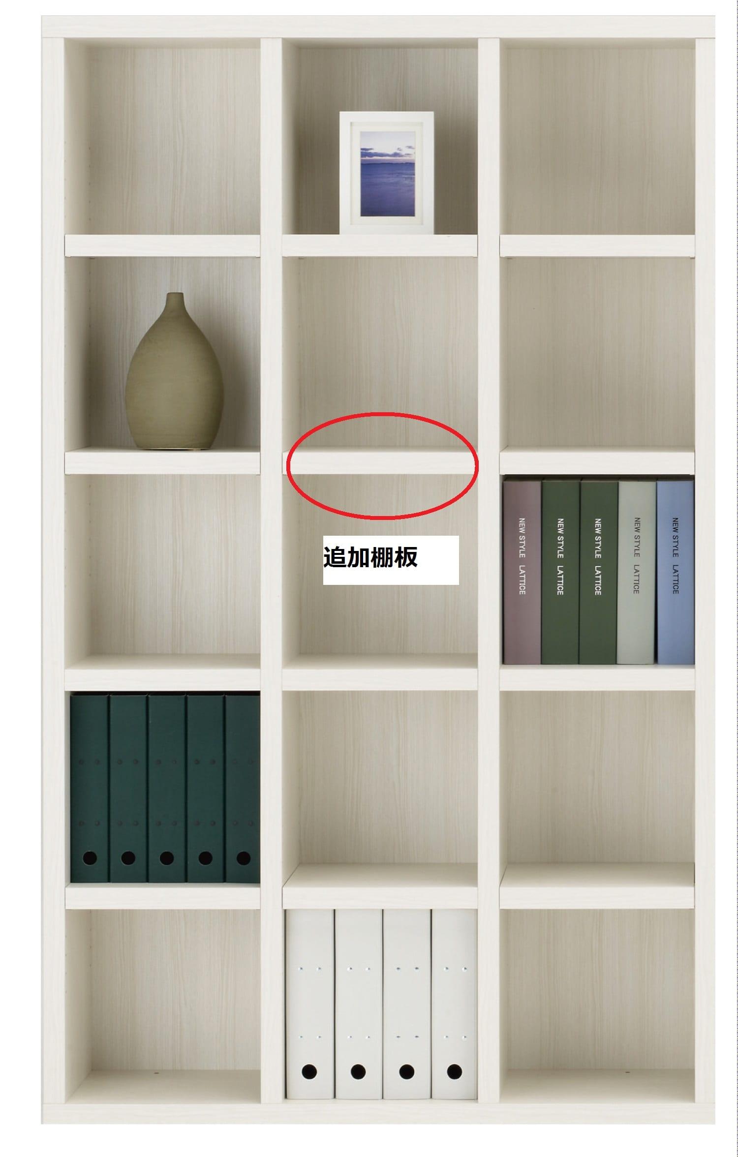 棚板 ニューラチスFB−110T ホワイトウッド:棚板 ニューラチス ※小物類はイメージです。