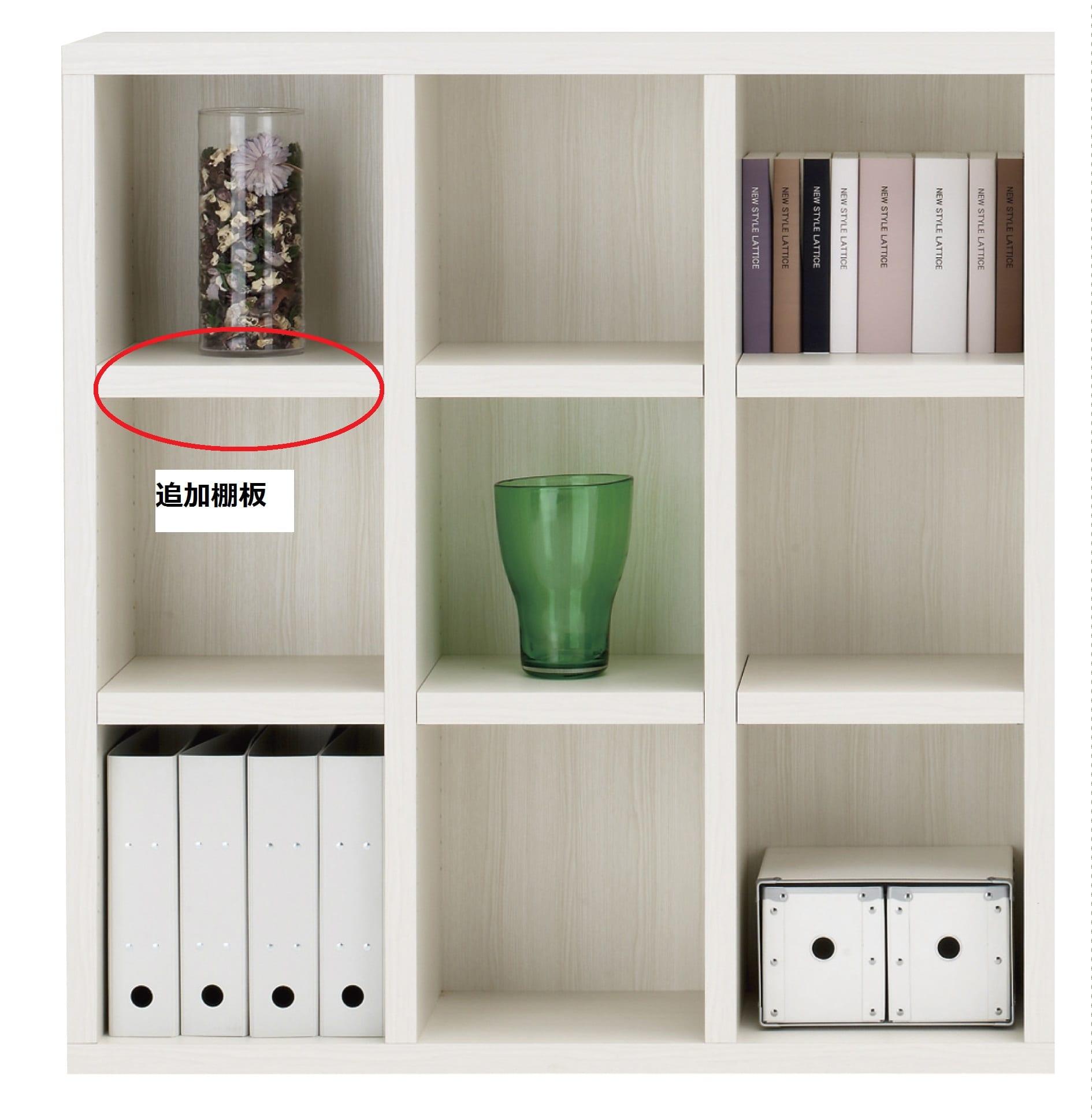 棚板 ニューラチスFH−110L ホワイトウッド:棚板 ニューラチス ※小物類はイメージです。
