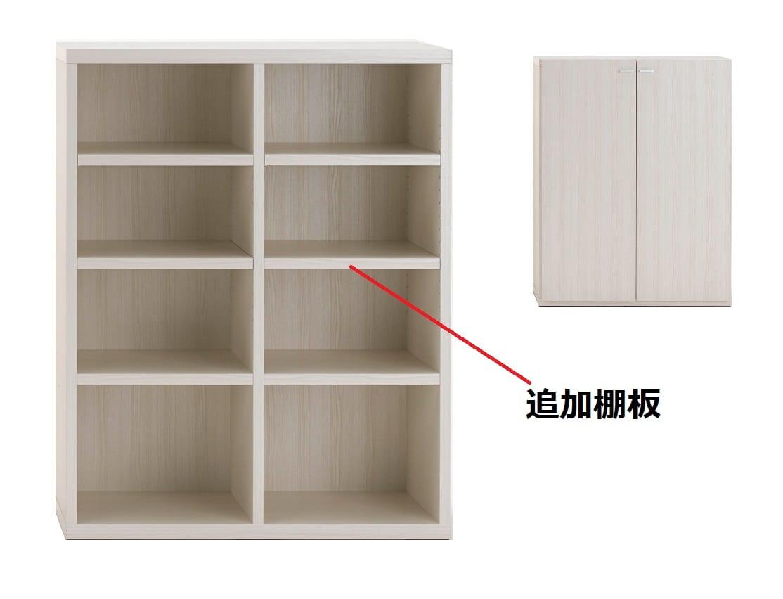 棚板 KFS−90棚板(WH)ホワイト:棚板