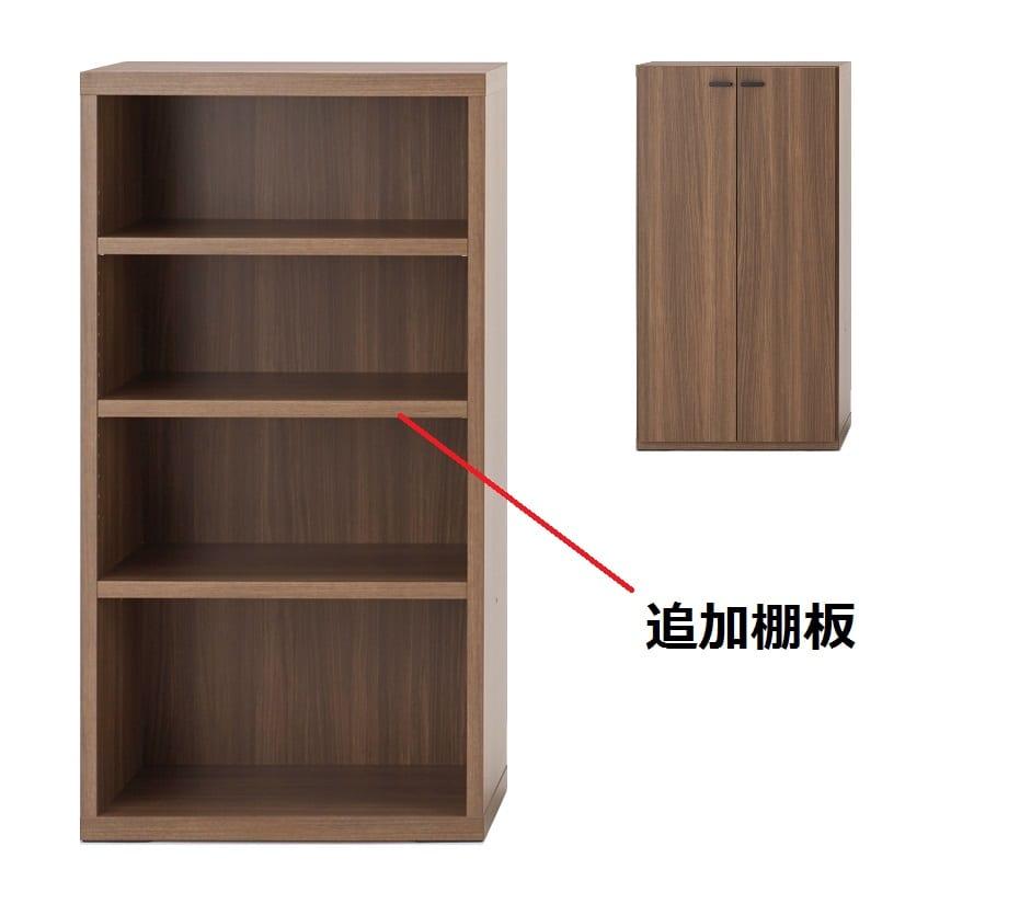 棚板 KFD−60棚板(WN)ウォールナット:棚板
