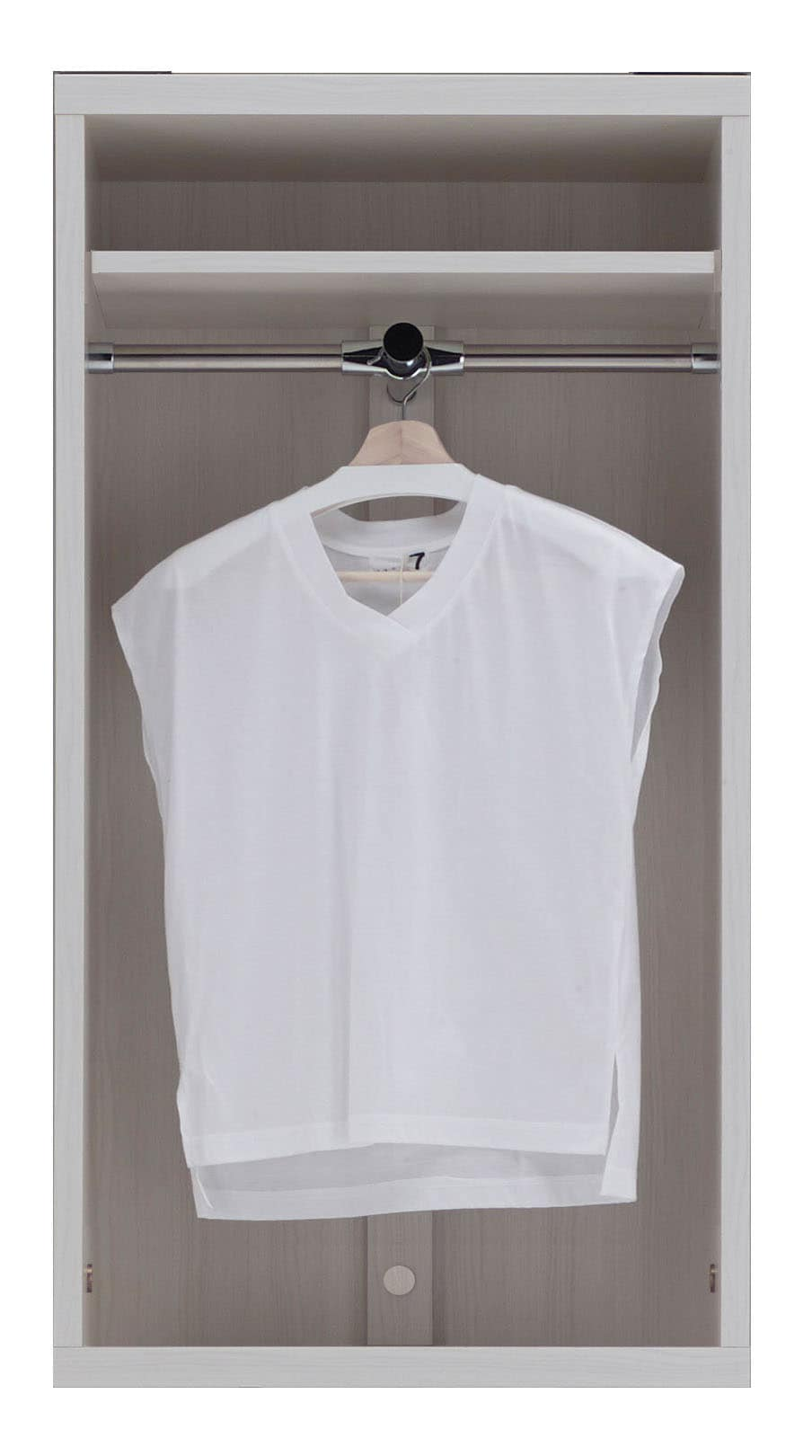 壁面収納 LCS−60 洋服オープンタイプ(WH)ホワイト:壁面収納 LCS−60 洋服オープンタイプ(WH)ホワイト
