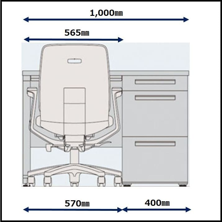 デスクチェア トルテR KZ240GBM−W9X7 ロー 肘無 プラムパープル:コンパクト設計