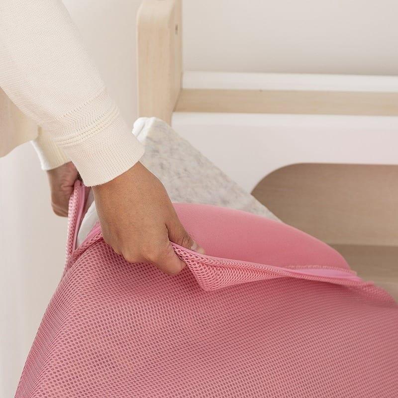 カラーメッシュマットレス(ピンク):カバーは水洗い可能