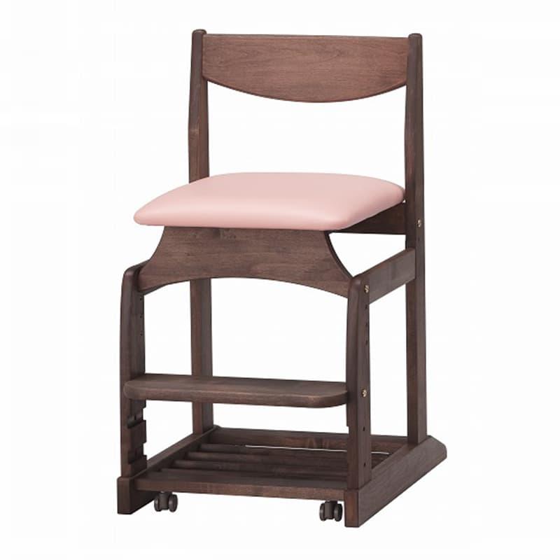 【堀田木工】木製チェア フォレスタ �bT PK/WN(ウォールナット):シンプルスタイルの落ち着いたデザイン