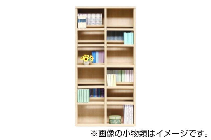 書棚 スカーラ 90Hフリーボード(ナチュラル)