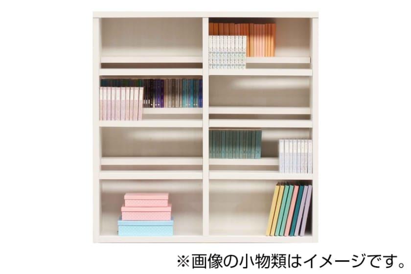 書棚 スカーラ 120Lフリーボード(ホワイト)