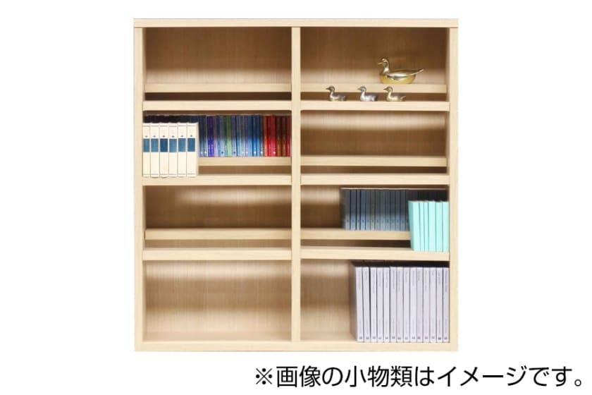 書棚 スカーラ 120Lフリーボード(ナチュラル)