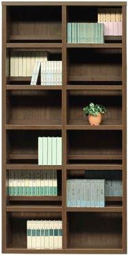 書棚 スカーラ 90Hフリーボード (ウォールナット)
