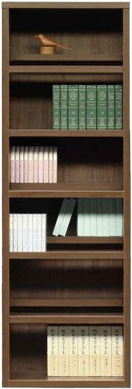 書棚 スカーラ 60Hフリーボード (ウォールナット)
