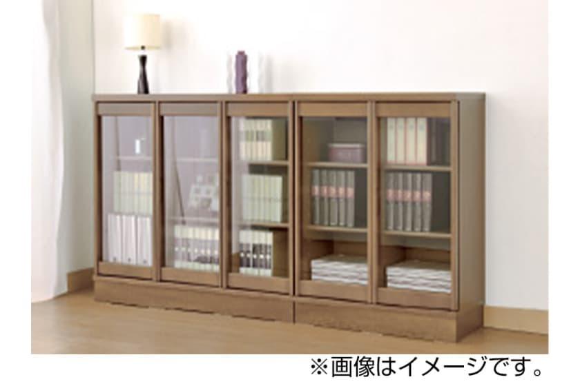 小島工芸 書棚 ベーシックボード�V 80ロー(BB-80L/ウェンジ)