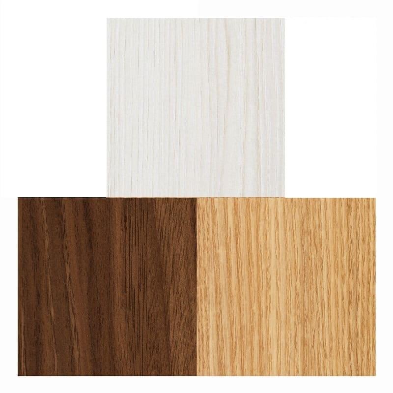 スライド書棚  エース シングルスライド 白木目:選べる4色