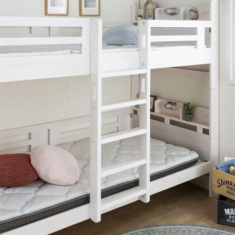 2段ベッド ルピナス NA:固定式ハシゴでスペース広々
