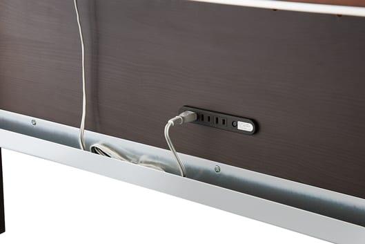 105デスク ワイズKWD-232MW:コンセントボックス