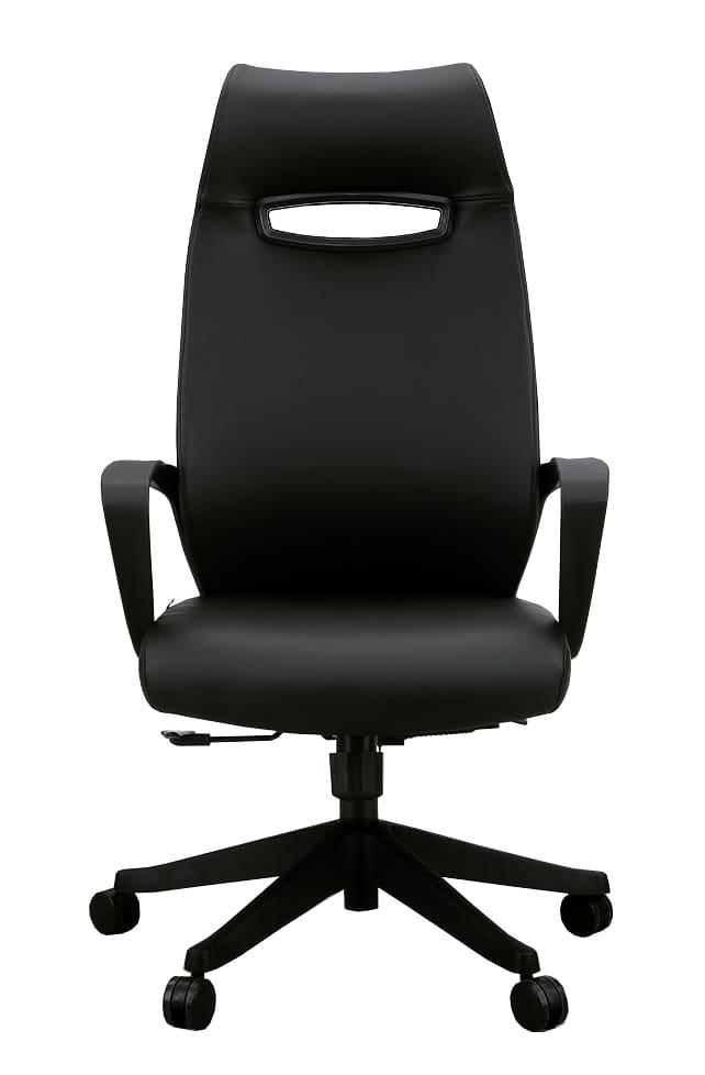 オフィスチェア ニード(合皮) ブラック