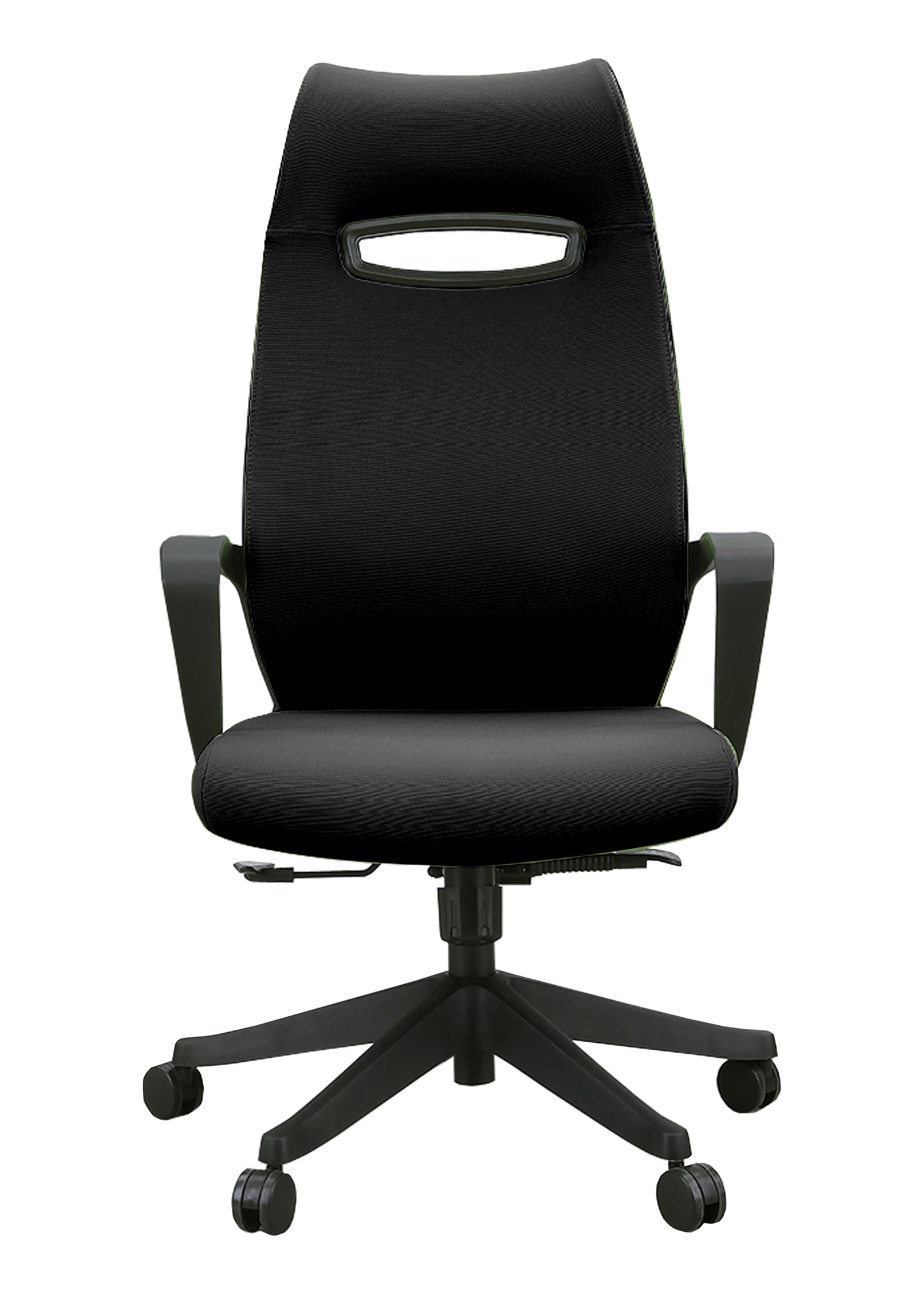 オフィスチェア ニード(ファブリック) ブラック:オフィスチェア
