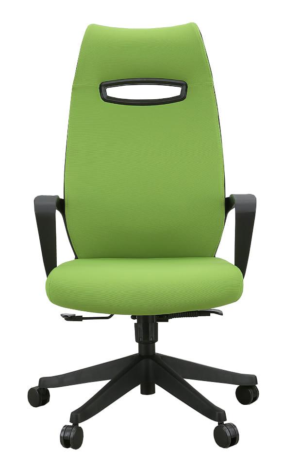 オフィスチェア ニード(ファブリック) グリーン