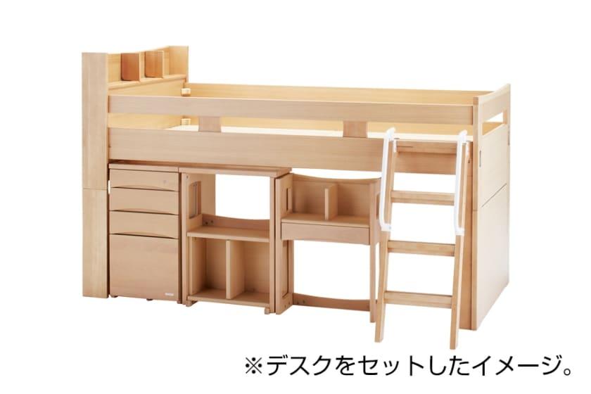 【シマホ限定】コイズミ スタディアップベッド(OCM-750WT)