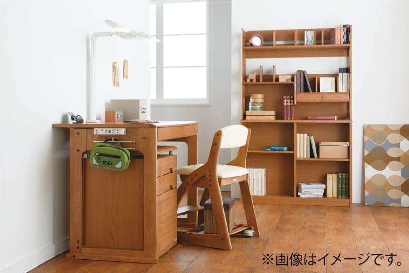 コイズミ 木製チェア 4ステップチェア PVC(FDC-012WWLB)