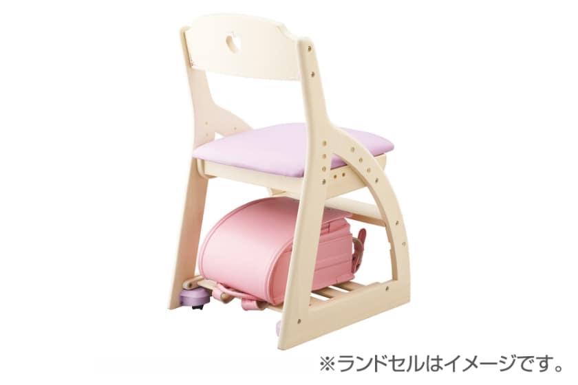 コイズミ 木製チェア ラブリーチェア(KDC-033WWPR)