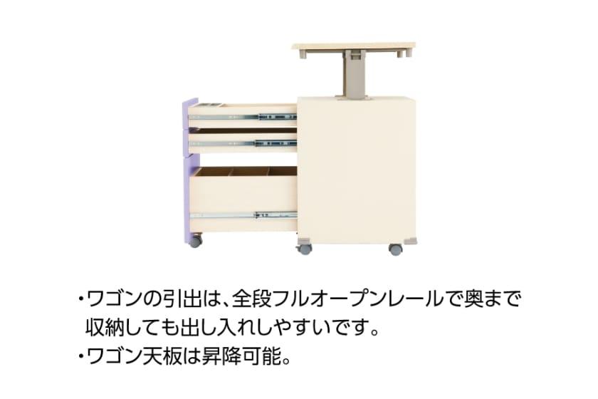 コイズミ 組みかえ型デスク CDファースト(CDM-483WWLB)