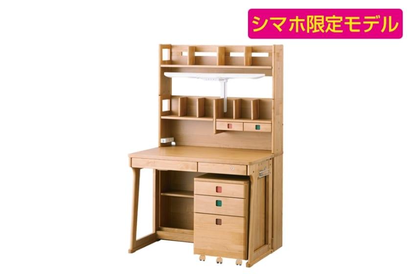 【シマホ限定】コイズミ 組みかえ型デスク レイクウッド(ODS-939AN)