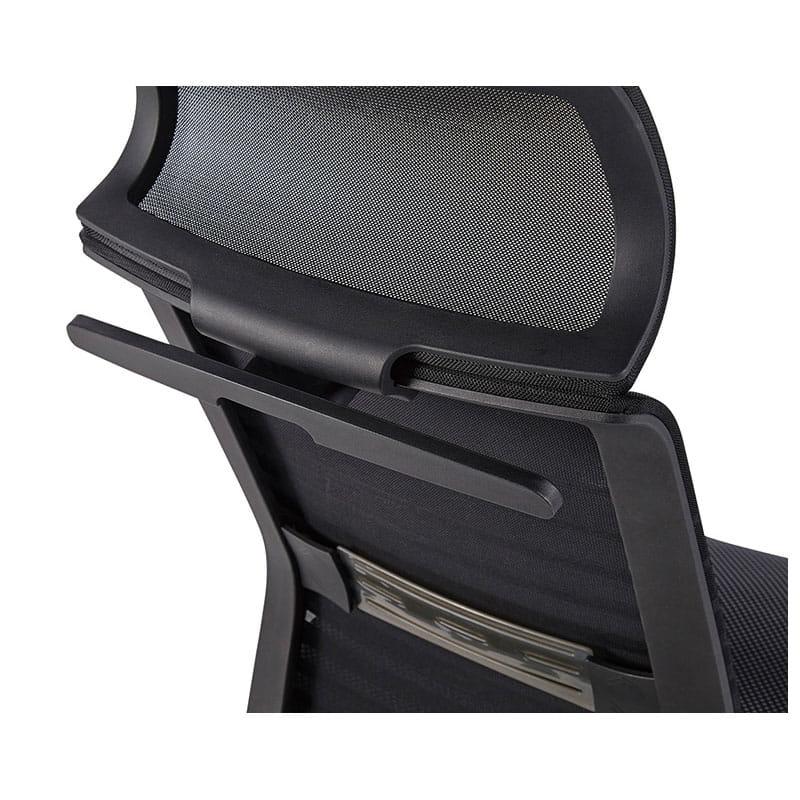 デスクチェア JG-61381BK(ブラック)
