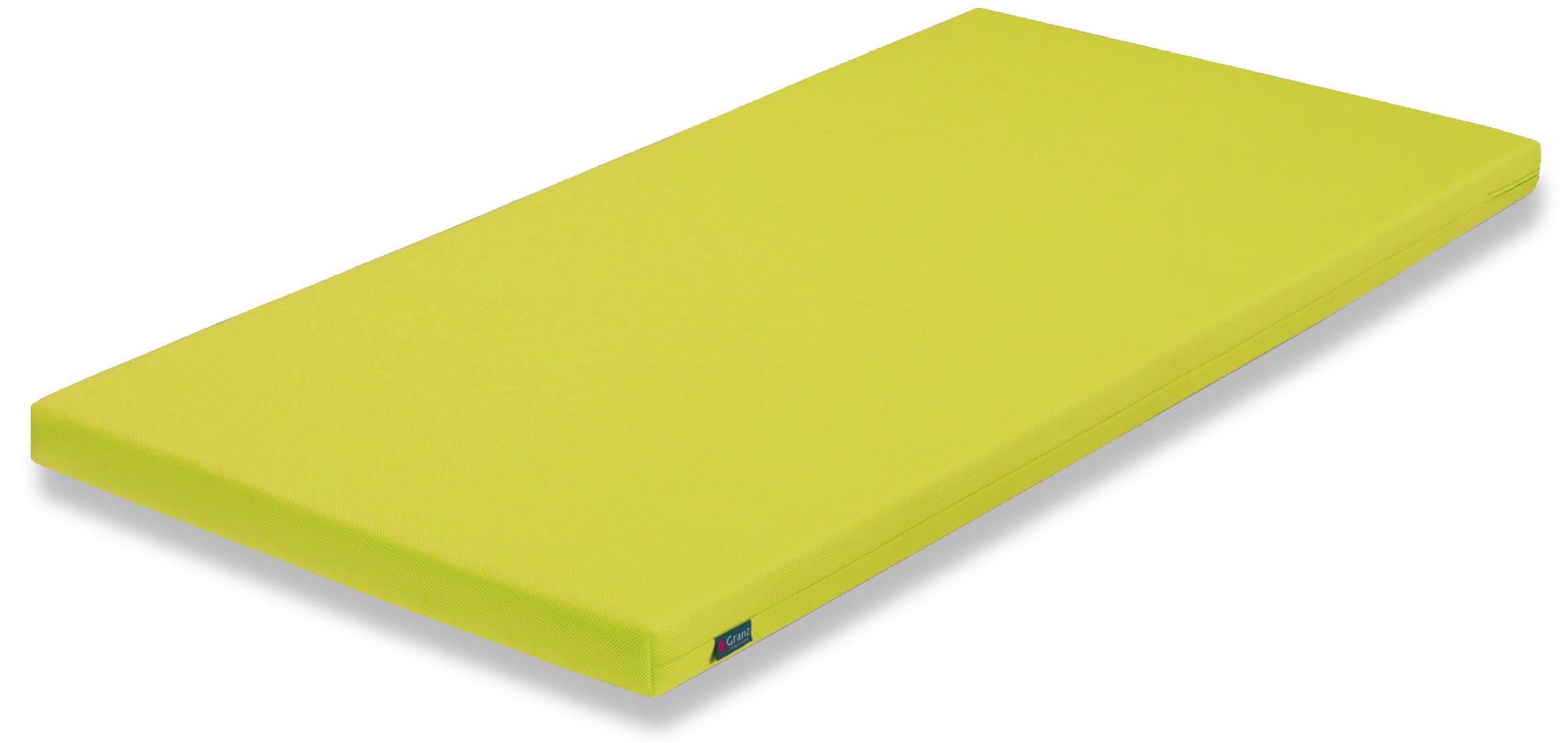 薄型マットレス カラーポケット GRグリーン:《システムベッドのマットレスにおすすめ》