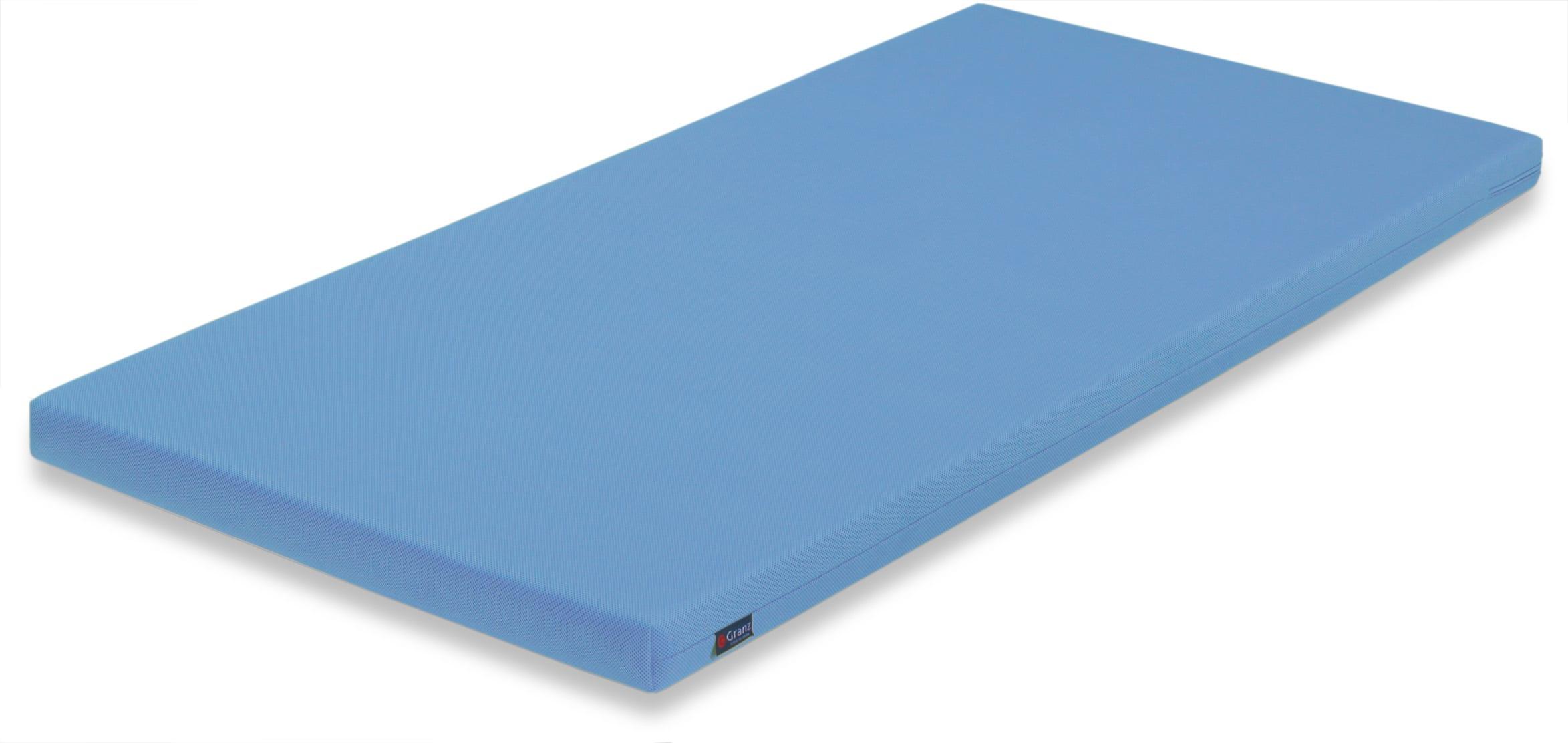 薄型マットレス カラーポケット BLブルー:《システムベッドのマットレスにおすすめ》