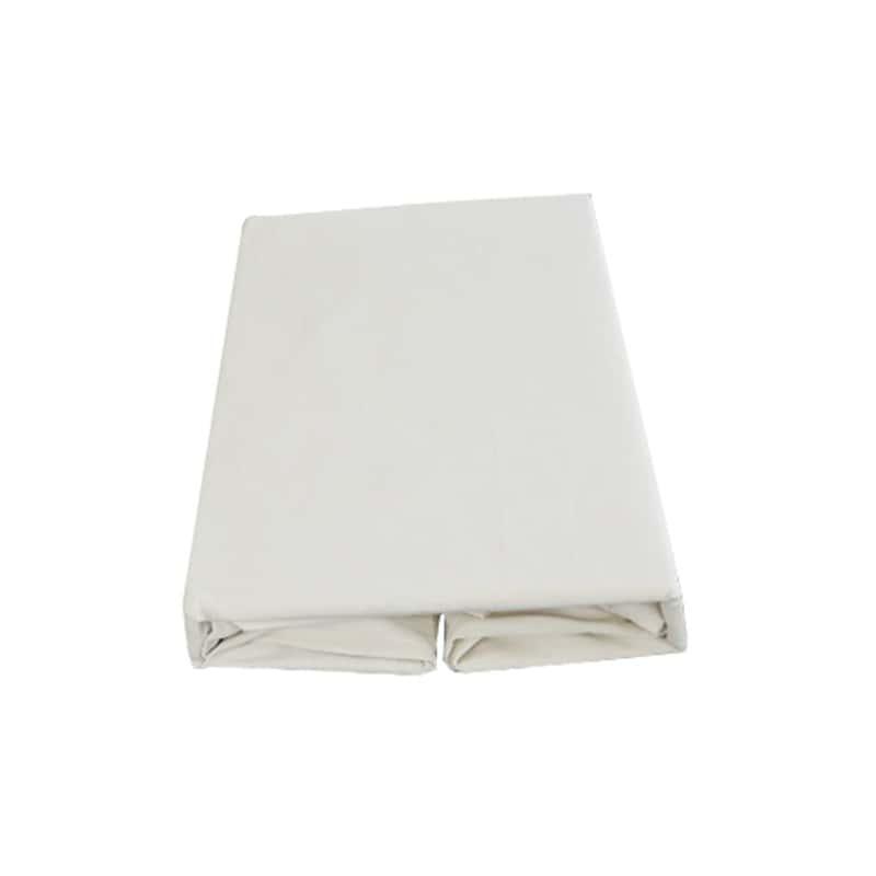【寝装品2点セット】シングル ベッドパッド/ボックスシーツ IV(アイボリー)