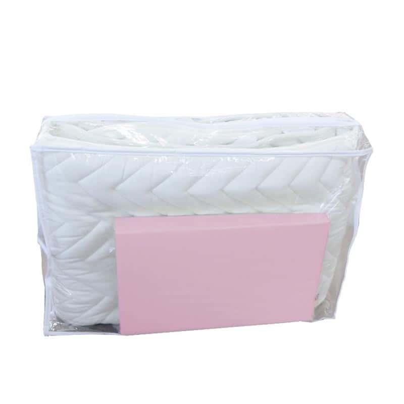 【寝装品2点セット】シングル(ベッドパッド、ボックスシーツ)PK(ピンク)