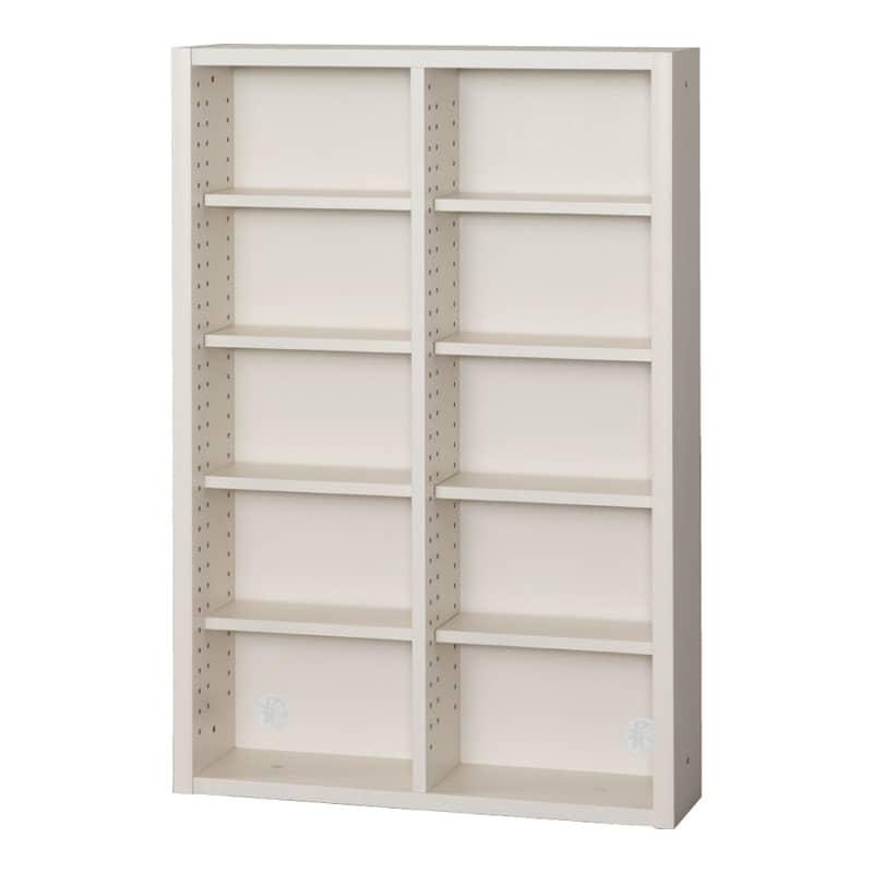 小島工芸 書棚 イソップ ESOP−75P(ホワイト):小島工芸 書棚 イソップ