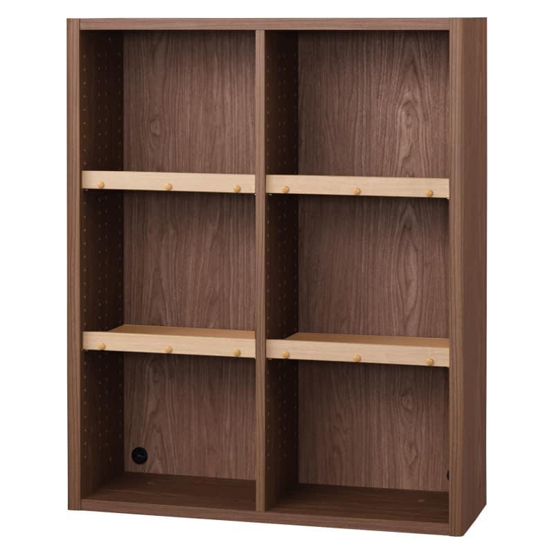 書棚 EP−90オープンBモカ+チェリー:書棚