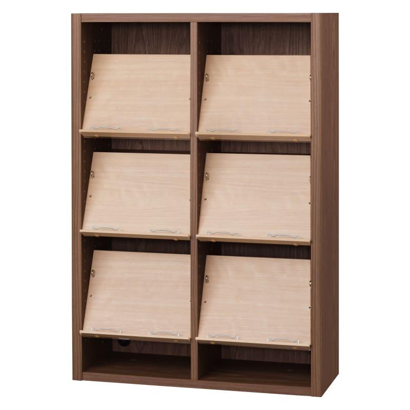 書棚 EP−75オープンCモカ+チェリー:書棚