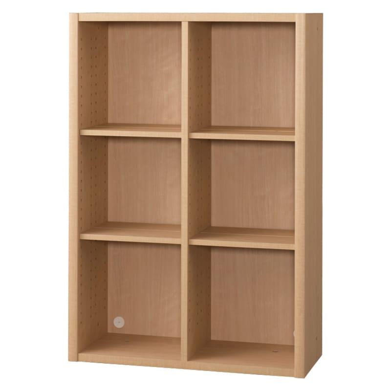 書棚 EP−75オープンDチェリー+チェリー:書棚