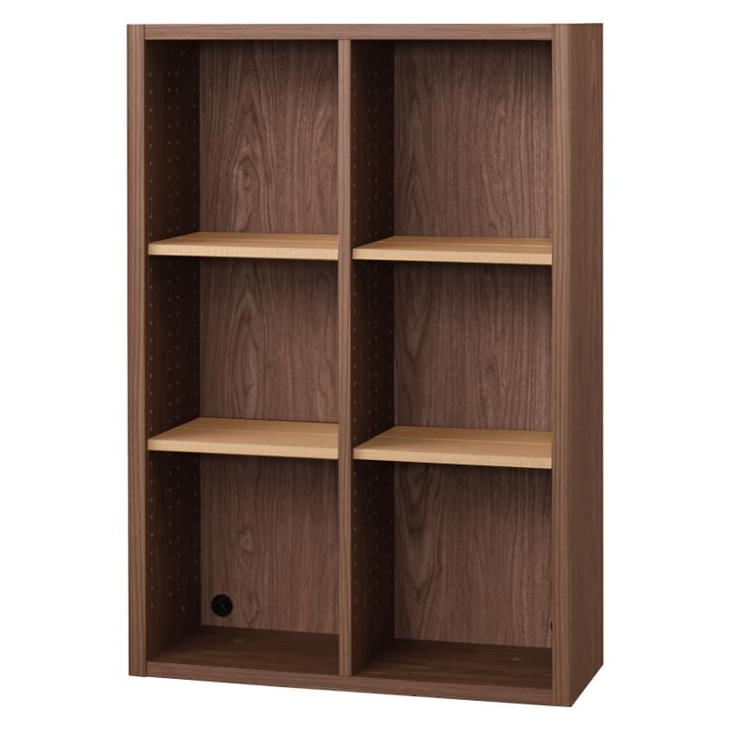 書棚 EP−75オープンDモカ+チェリー:書棚