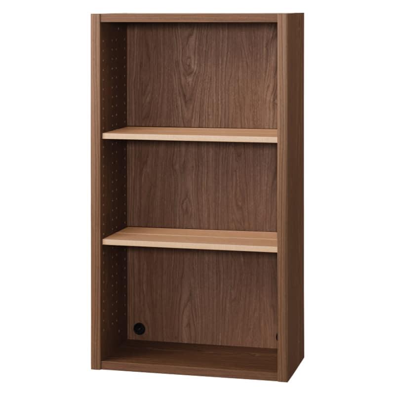 書棚 EP−60オープンDモカ+チェリー:書棚