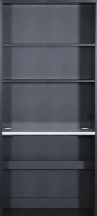 壁面収納 グロリア GL−B80X ブラック
