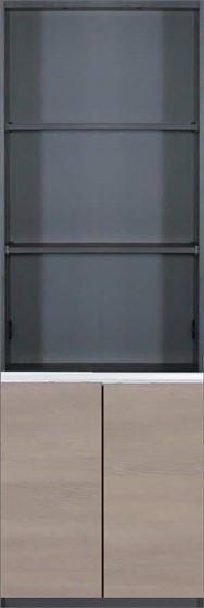 壁面収納 グロリア GL−B60SK エルムモカ
