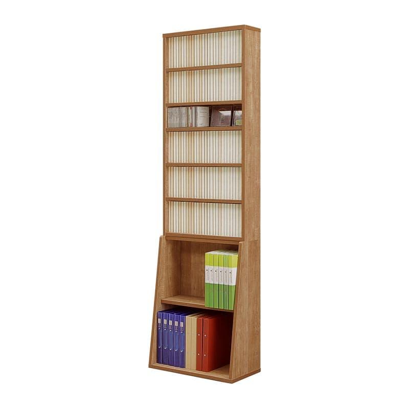 書棚 コミックタワー 60上下段セット(NA):シンプルなデザインの「ビーノ」シリーズ 小物類はイメージです。